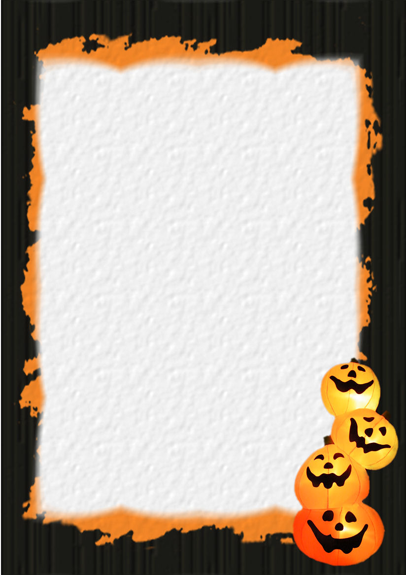 This is an image of Insane Halloween Stationery Printable