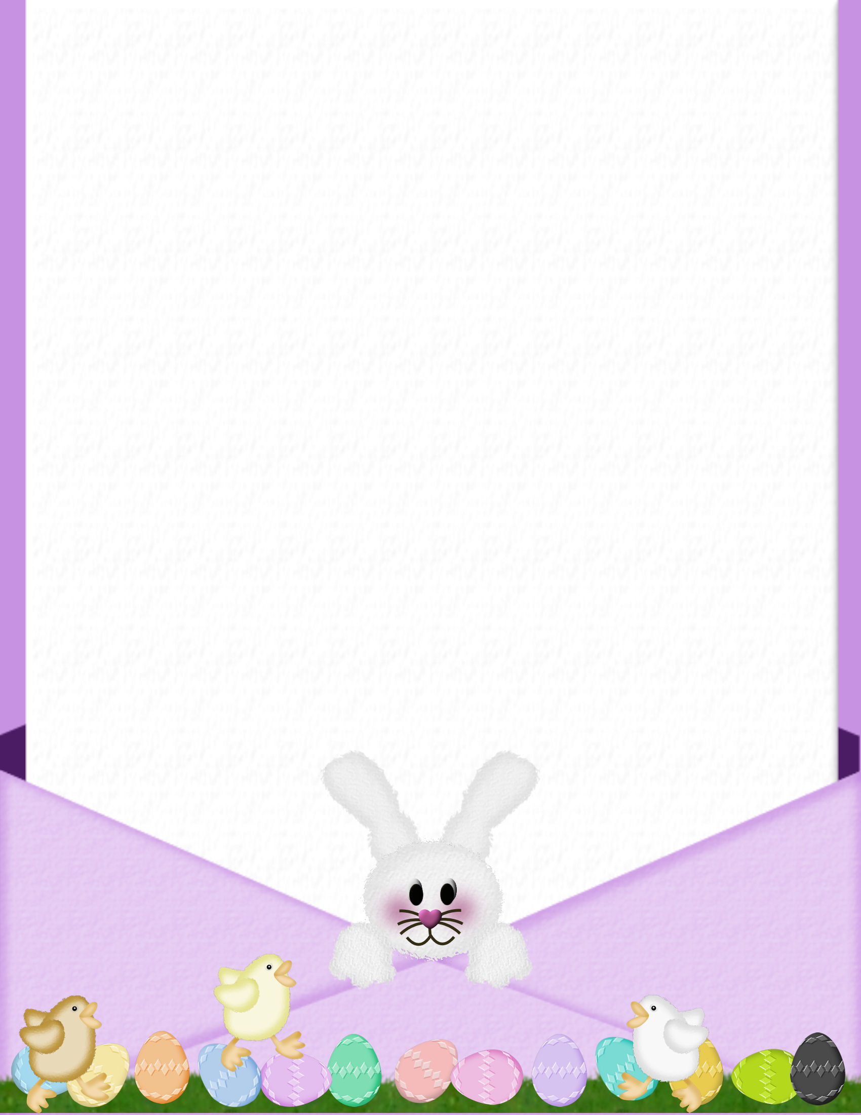 easter bunny letters create free printable letters from