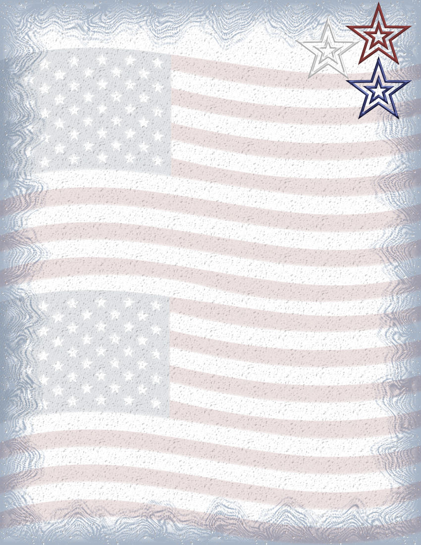 patriotic paper Looking for fun red white and blue patterns for your july 4th crafts download this free printable patriotic scrapbook paper easily.