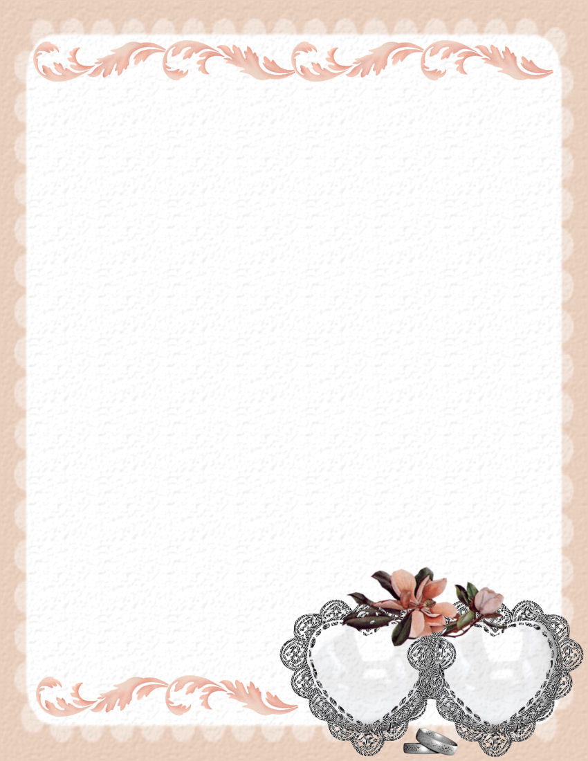 template for wedding card